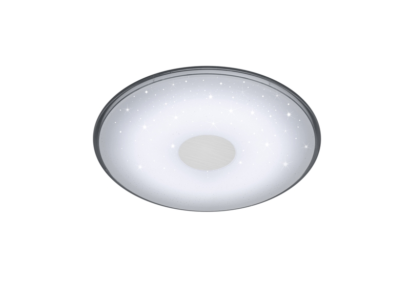 Plafoniera Tonda A Led : Shogun plafoniera led tonda con telecomando dimmer e luce calda nr