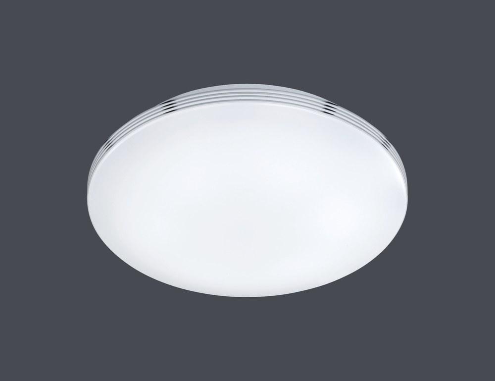 Plafoniera Led Bagno : Apart plafoniera led bagno con bordo cromo d.41 nr.1 lampadine