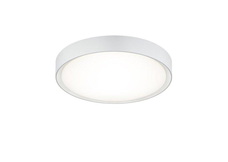 Plafoniera Led Bagno : Clarimo plafoniera led bagno con bordo bianco d.33 nr.1 lampadine