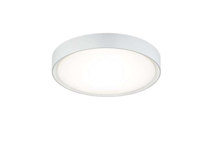 Plafoniera Per Bagno A Led : Clarimo plafoniera led bagno con bordo bianco d nr lampadine