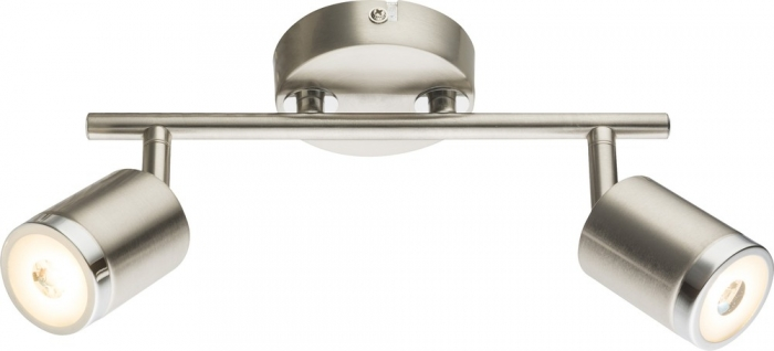 COMORE - Faretto LED LxH:260x168, incl. 2xLED 5W, 320lm, 3000k - Globo Lighting 56958-2