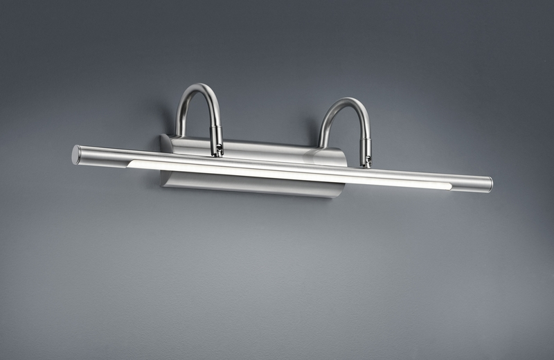 Cuadro applique led quadri metallo acciaio cm nr lampadine