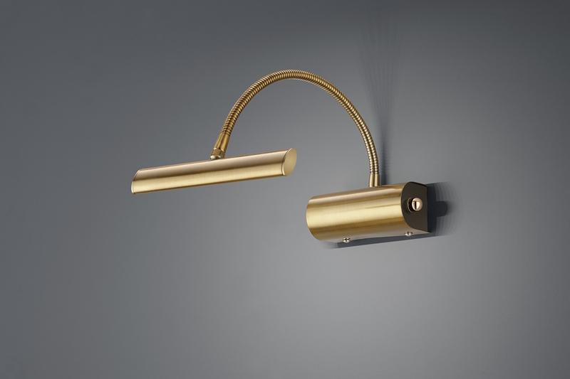 Curtis applique led antic. con flessibile cm18 max 35 nr.1