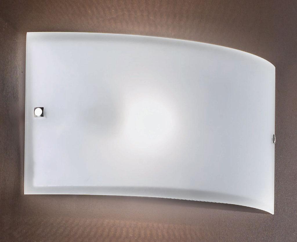 Applique vetro satinato cross applique grande cm con montatura