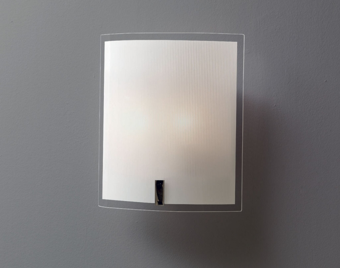 Fenice applique 30x35 sp11 montatura bianca for Lampadine led particolari