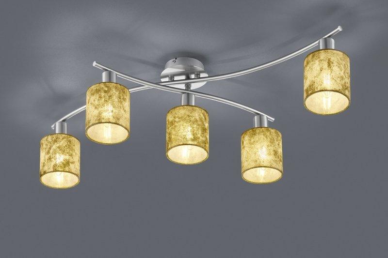 Plafoniere Moderne In Tessuto : Garda plafoniera diffusori in tessuto oro l cme cm nr