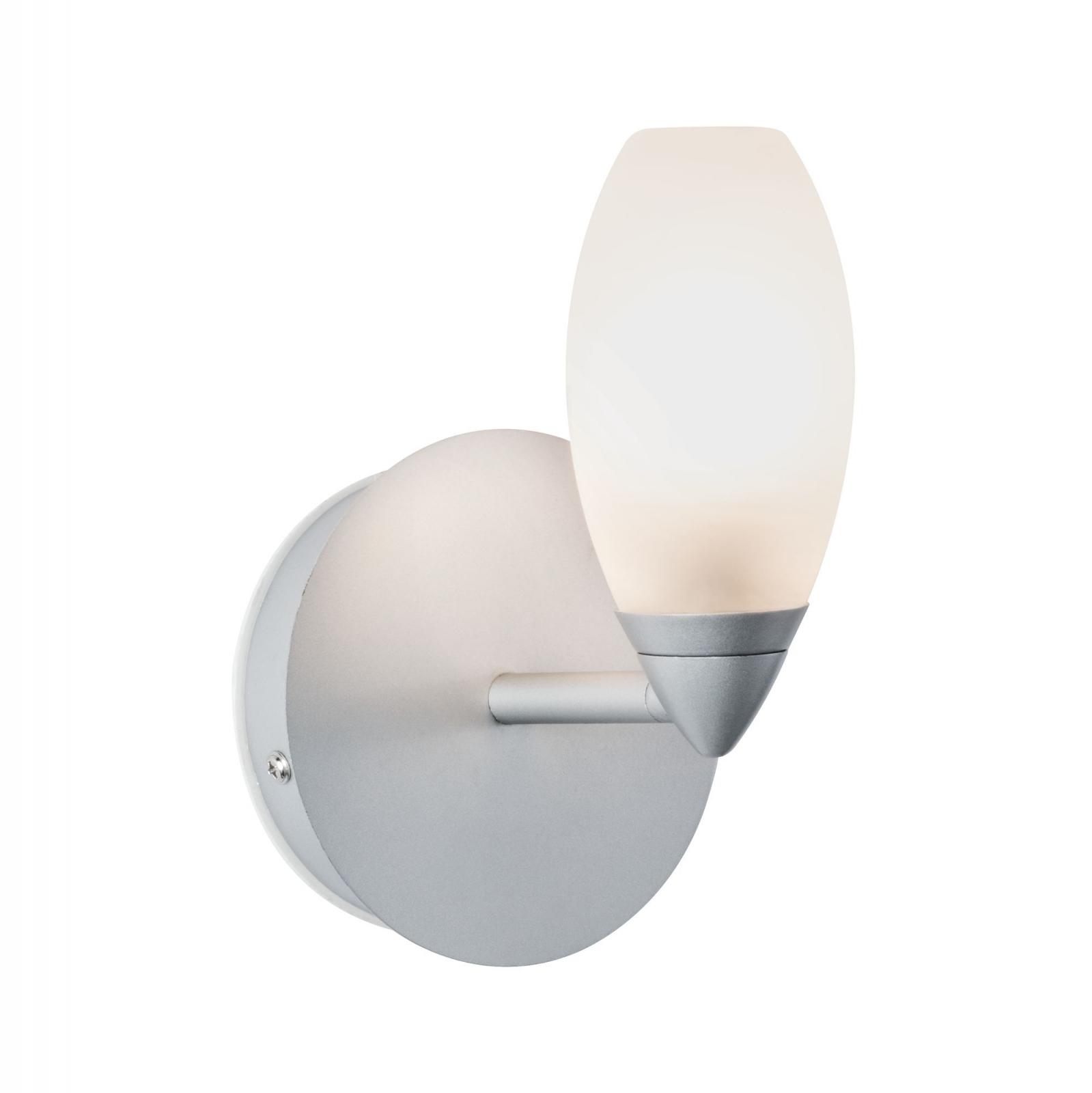Illuminazione Bagno A Parete illuminazione da bagno apparecchio a parete carina ip44 1 lampada cromata  opaca senza lampada, max. 28 w g9 - paulmann art. 70838