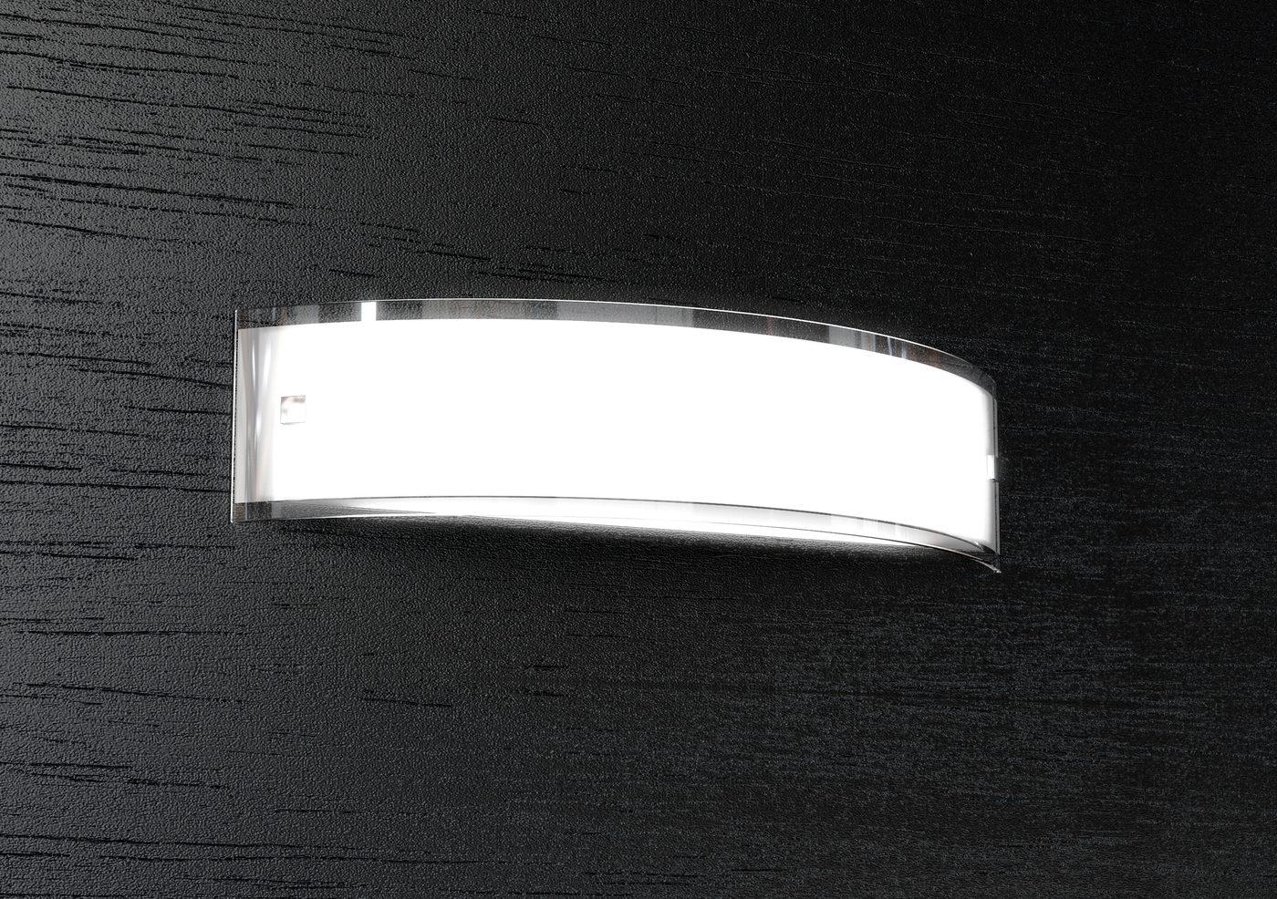 Linear lampada da parete 50cm top light illuminazione 1076a50