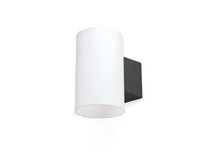 Lur lampada da parete grigio scuro smd led w k corpo in