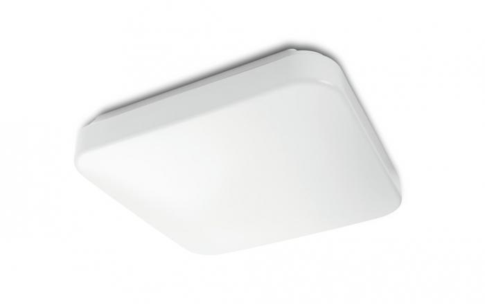 Plafoniere Quadrate Philips : Mauve plafoniera bianco in sintetico quadrata 2700k 1xled integrato