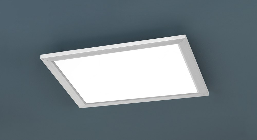 Plafoniera Led Quadrata 30x30 : Phoenix plafoniera led incasso quadrata dimmerabile acciaio