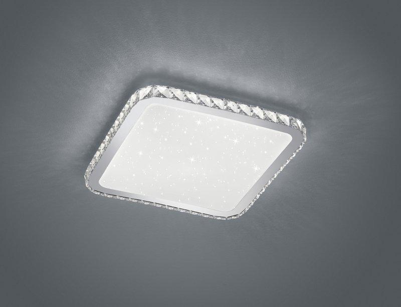 Sapporo sapporo plafoniera led quadrata diffusore bianco effetto
