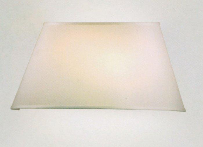 Ventola applique d h sp tessuto teletta color sabbia