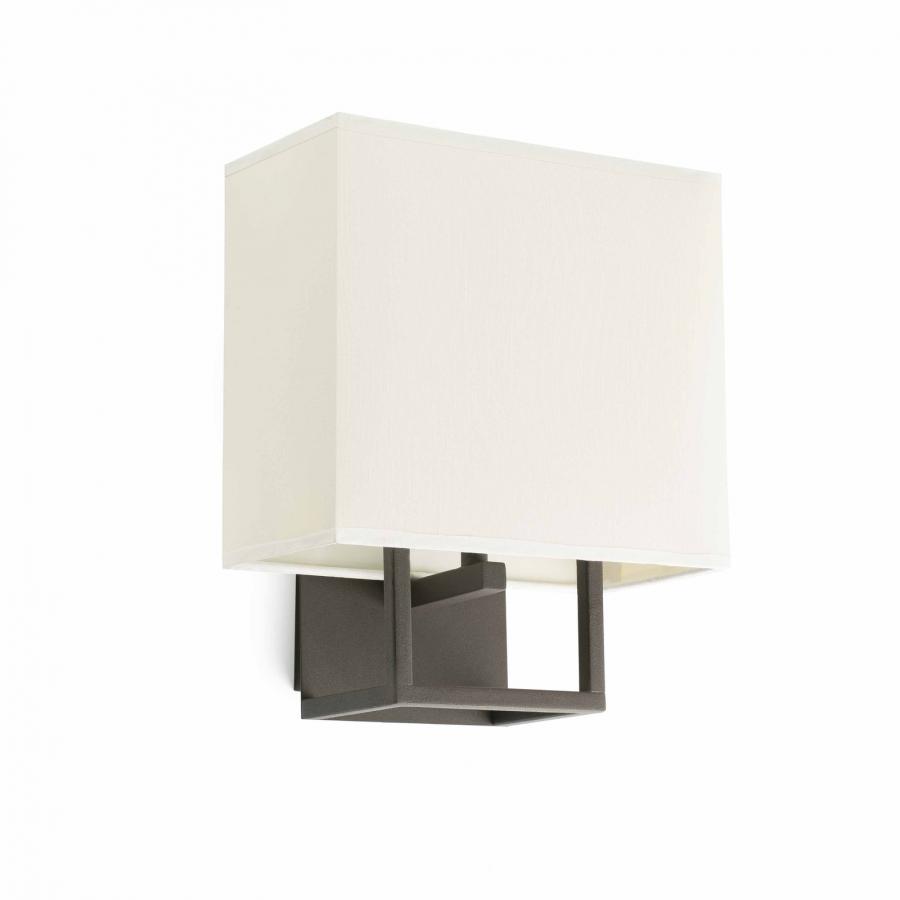 lampada marrone parete 20W da Faro 1xE14 VESPER Lorefar Ybfg76yIv